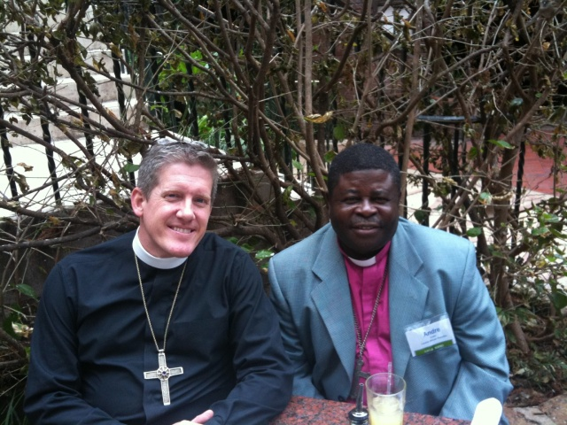 Bishop Andre Golicke of the Evangelical Lutheran Church of the Central African Republic
