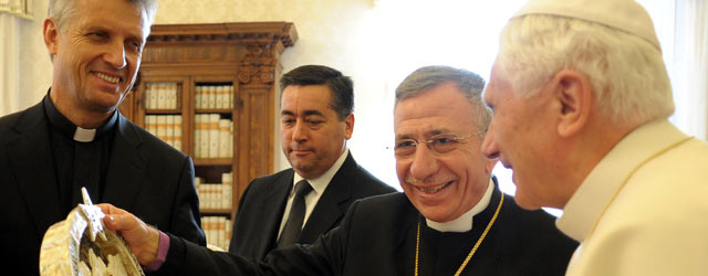 Bishop Younan and Pope