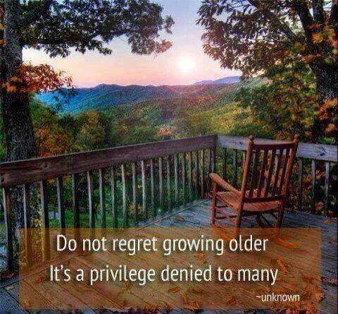Do Not Regret Growing Older Bishop Michael Rinehart