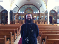 A photo from my visit with Father William