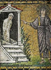 Sixth century mosaic, Ravenna, Italy