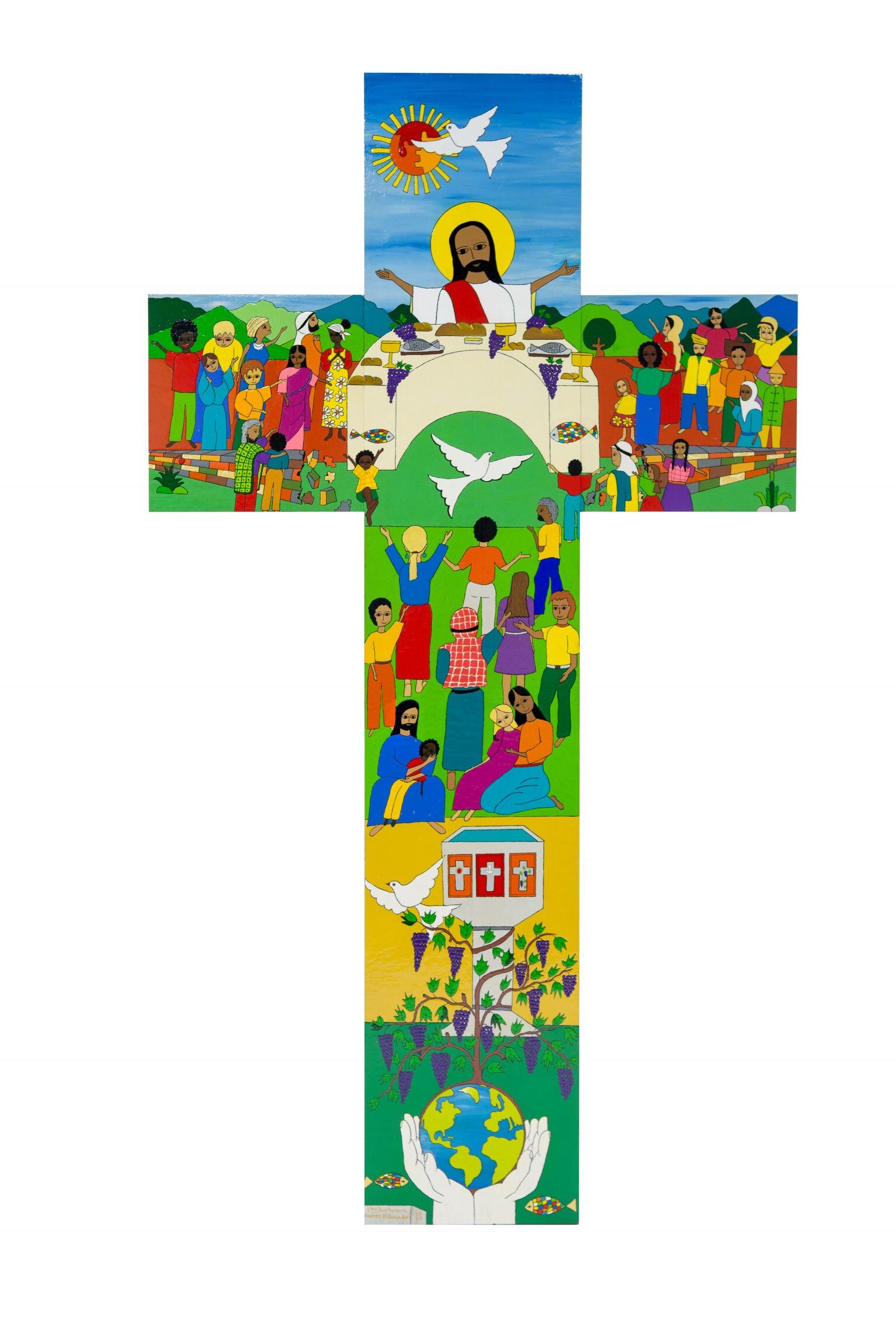 The Salvadoran Cross Bishop Michael Rinehart