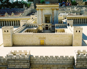 model-of-temple
