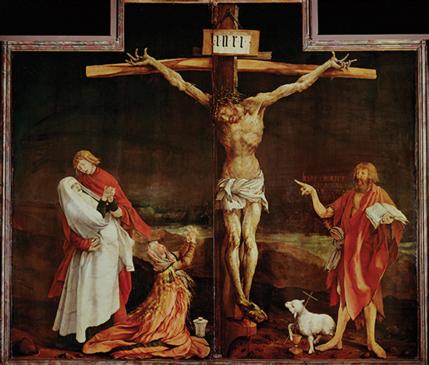 John pointing at Jesus
