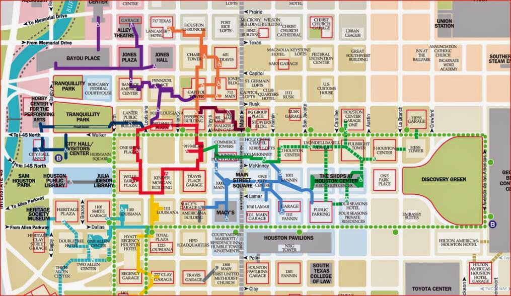 Houston Downtown Tunnel Map Houston Downtown Tunnels – Bishop Michael Rinehart