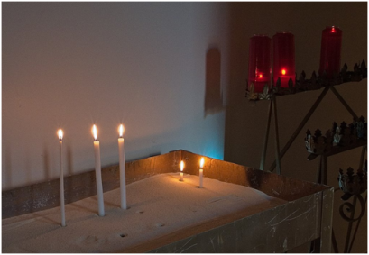 Confessional Prayer station