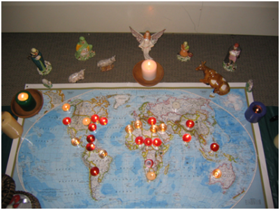 Prayers for the World station
